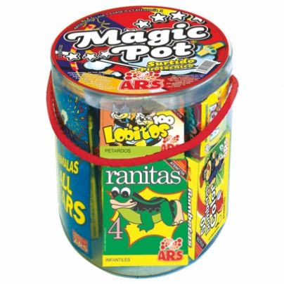 Lot Magic Pot